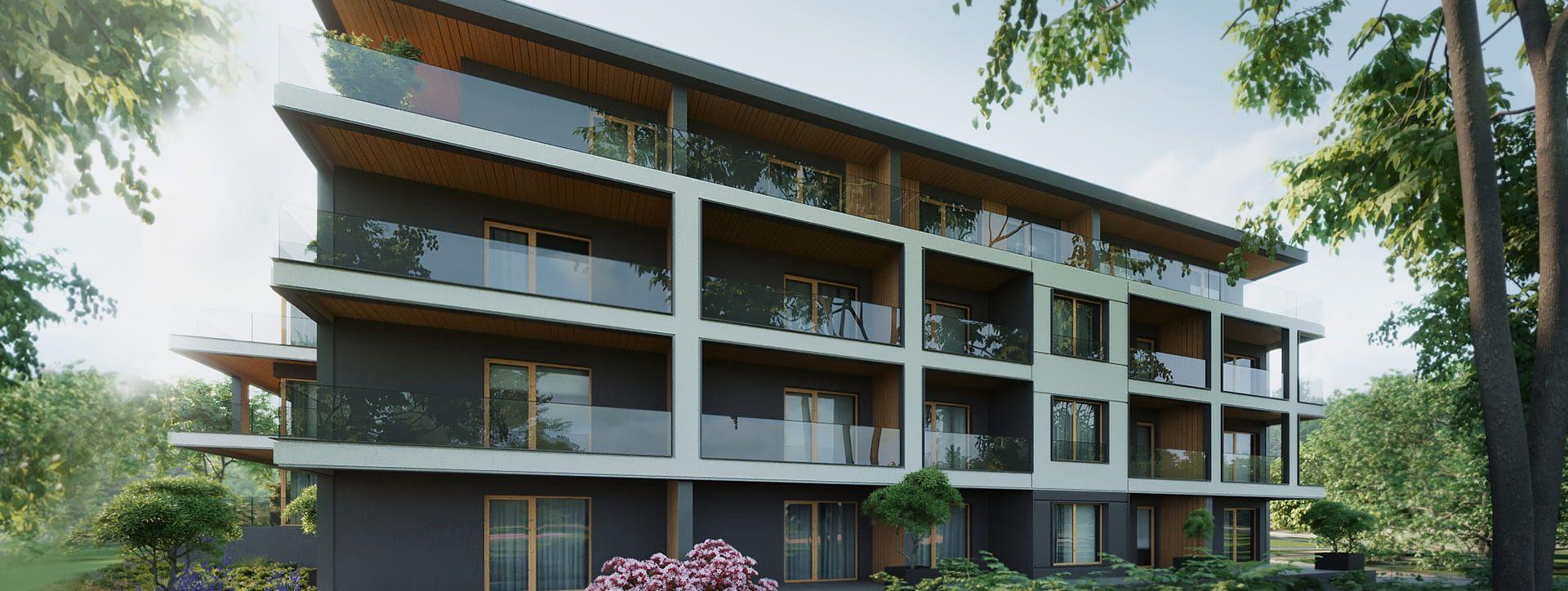 Apartamenty Klonova Park - Budynek D